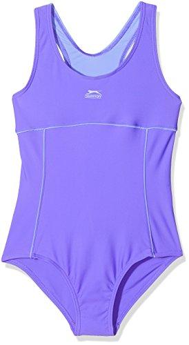 14-15 Jahre Slazenger Mädchen Badeanzug in der Farbe : dunkel lila