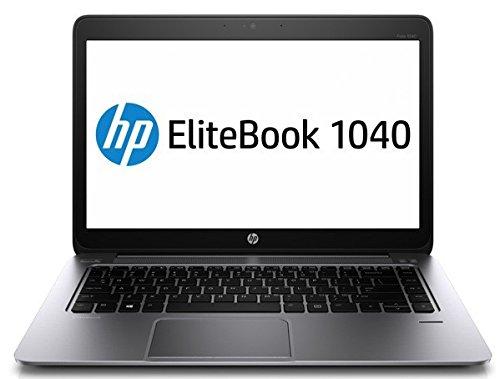 Elitebook HP Folio 1040 G2 CPU i7 - 5600U - 2,6 GHz - SSD256 GB - RAM8GB - 14' FHD - Intel HD - LTE - Teclado retroiluminado con Pegatinas ITA - WIN10 Pro 64 bits (reacondicionado Certificado)