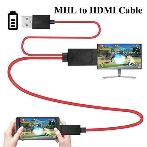 collegare tablet a tv Cavo da micro USB a HDMI-MHL 1