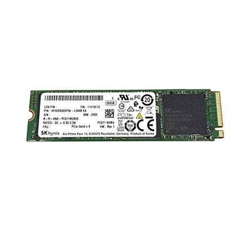 SK Hynix SSD PC611 M.2 2280 80mm PCIe Gen3 x4 NVMe HFS256GD9TNI unidad de estado sólido para Lenovo Dell HP Acer Asus y otros