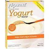 Yo Gourmet Freeze Dried Yogurt Starter - 1 Box Containing 6 Each 5 Gram Packets
