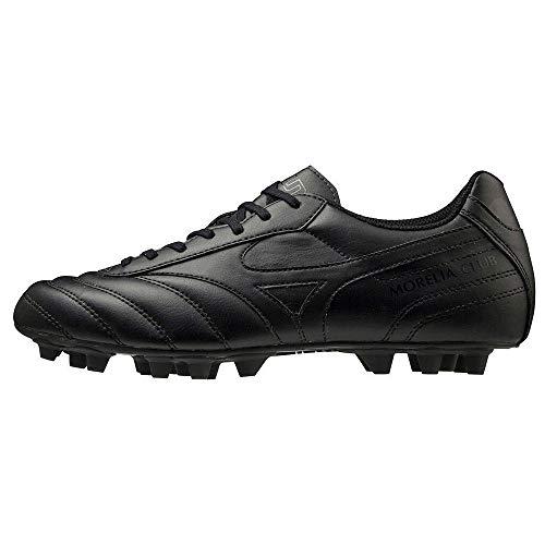 Mizuno Morelia II Club 24, Scarpe da Calcio Uomo, Black/Black, 43 EU