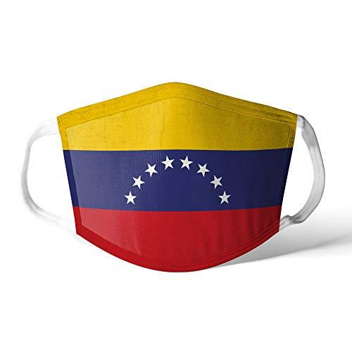 M&schutz Maske Stoffmaske X Groß Amerika Flagge Venezuela Wiederverwendbar Waschbar Weiches Baumwollgefühl Polyester Fabrik