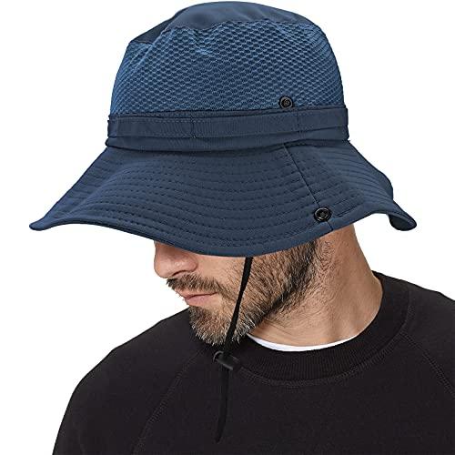 Inconly Sombrero para El Sol para Hombres Mujeres ProteccióN UV Sombreros De Pesca Al Aire Libre Estilo Pescador con Malla