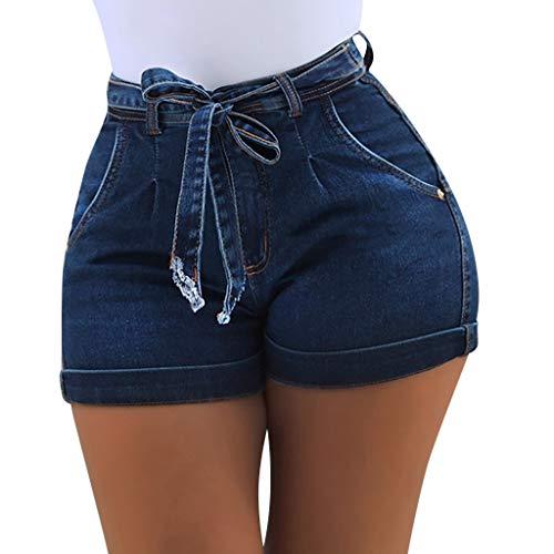 Short Femme été,Amlaiworld Shorts Bermudas Nouveaux Mode Pantacourte Taille Haut Poche Sexy Pantalons Courts Plage