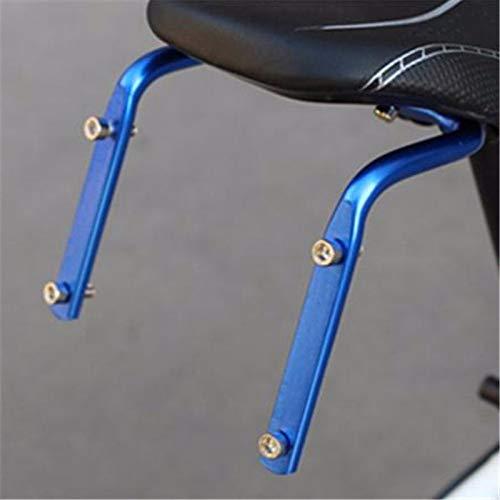 ZPEE Portabidones para Bicicletas Asiento de Bicicleta Poste Botella Bastidor convertidor Ciclismo Bicicleta Silla de Silla de Punta torte Botella de Agua Portabotellas Bicicletas (Color : Blue)