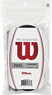 Wilson Pro Sensation Overgrip (30-Pack), Black by Wilson