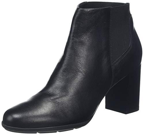 Geox D New ANNYA B, Botines para Mujer, Negro (Black C9999), 35 EU