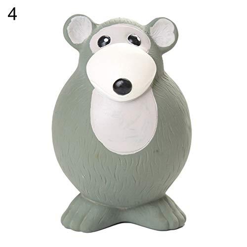 zNLIgHT paard konijn muis vorm pieper huisdier hond puppy kauwen tanden schoonmaken spelen speelgoed - paard, Mouse#, 1 exemplaar