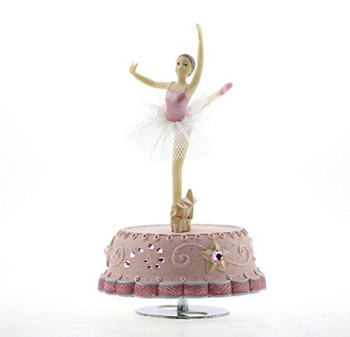 Spieluhrenwelt MMM GmbH, 857729 Spieluhr rosa mit Tanzender Ballerina