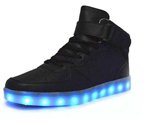 LED Scarpe Schuhe Kinder Scarpe Donna Uomo Sneakers Men...