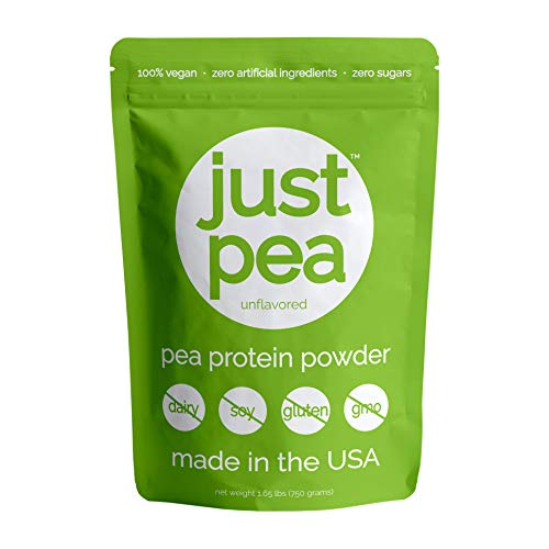 JustPea Pea Protein Powder - Unflavored - 30 Servings