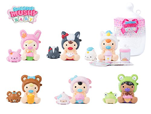 Smooshy Mushy Figuras coleccionables 810AMA Babies