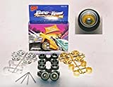 Two Tone Reversible Rims Wheels w/ Low Profile Tires (for Hobby Model Kits) 1/24 1/25 scale