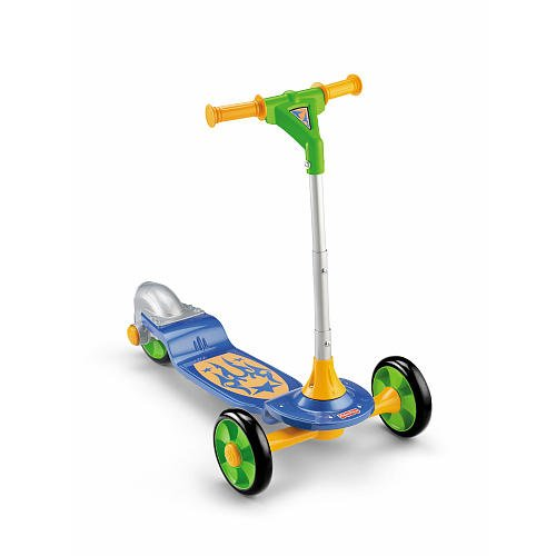 Fisher-Price Grow-with-Me 1,2,3 Scooter Assortment