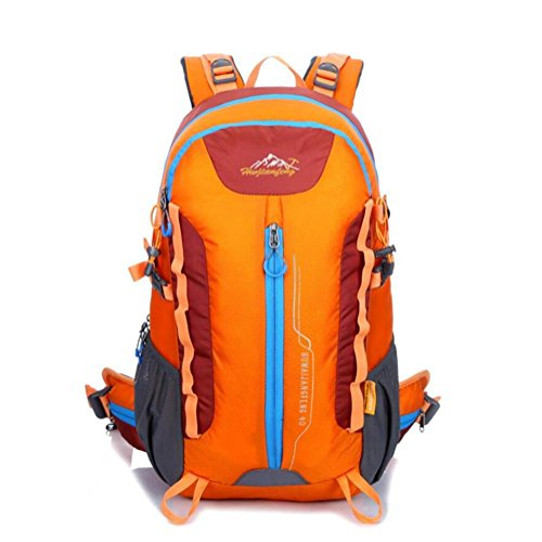 GAOHAILONG 36-55L Professionnel Sac de Transport Alpinisme Sac à Dos Porter Larme Sac mâle Sac à Dos Voyage, Orange