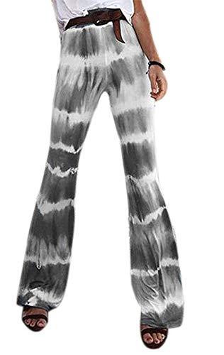 Babao Pantalones de Yoga Tie-Dye para Mujer Pantalones para Correr Delgados para Mujer Pantalones de Pierna Recta para Entrenamiento de Pilates Gimnasio Joggers Lounge