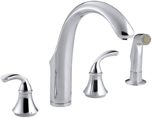KOHLER 10445-CP Forté(R) 4-Hole Sink 7-3/4