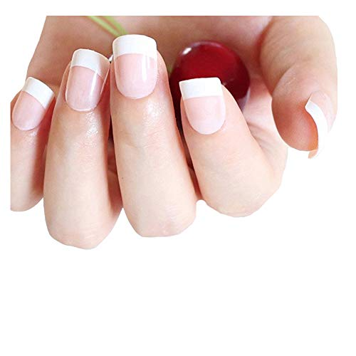 1set Nu Uv Faux Ongles Gel Faux Place Press Nails Pour Girl Cover Conseils D'art Porter Finger Ongles