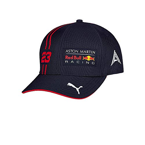 Red Bull Racing Alex Albon Driver Cap, Youth One Size - Original Merchandise