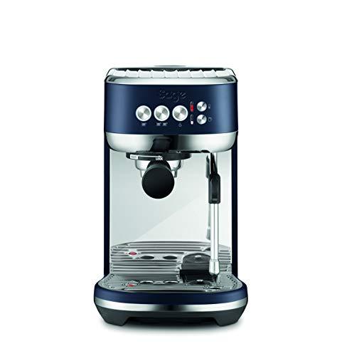 Sage Appliances SES500DBL the Bambino Plus zeefdrager espressomachine met automatische melkopschuimer, 1600, pruimenblauw