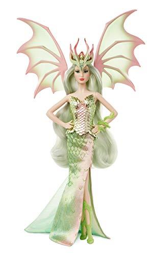 Barbie GHT44 - Signature Dragon Empress Puppe, ca. 38cm, detailreicher Look für Sammler, zum Sammeln