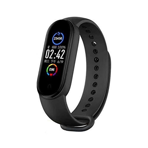 Pulsera Actividad Reloj Inteligente Fitness Tracker Podómetro Monitor de Sueño Contador de Calorías Pasos Rastreador de Ejercicios Reloj Salud Deportiva para Mujeres Hombres