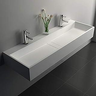 Amazon Com Bathroom Vanity Sink Tops Two Sinks Vanity Sink Tops Bathroom Sinks Tools Home Improvement