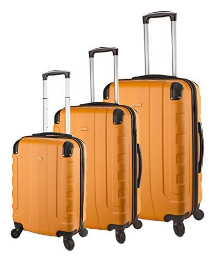 TravelCross Chicago Luggage 3 Piece Lightweight Spinner Set
