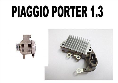 Regulador alternador para Piaggio Porter 1.3 16 V 1998 1999 2000 2001 2002 2003 2004-2016