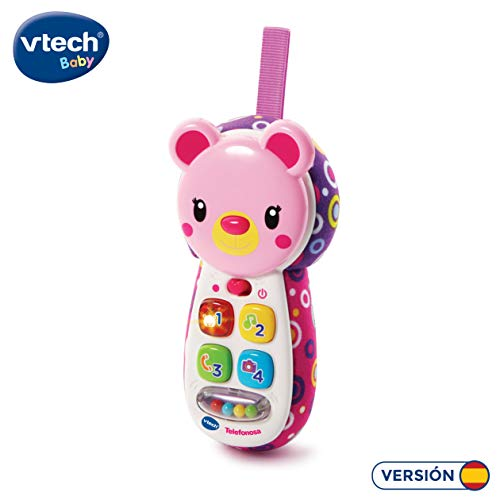 VTech- Teléfono Interactivo Juguete entretener divertir