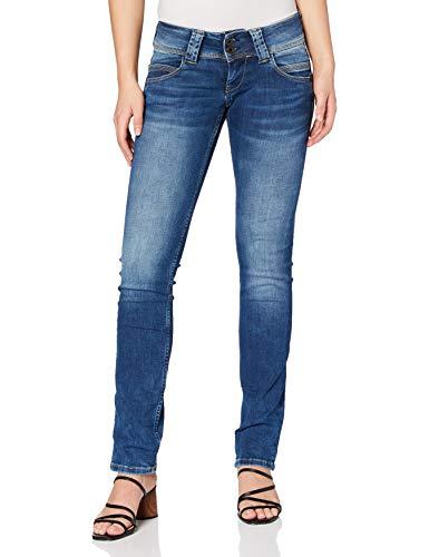 Pepe Jeans Damen Jeans Venus, 10oz Authentic Rope Str Med, 28W / 34L