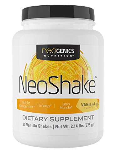 NeoShake Vanilla - 30 Servings - Optimum Nutrition Whey Protein Isolate Powder Best Tasting Keto Friendly Meal Replacement Shakes Weight Loss Low Carb