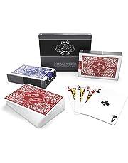 Bullets Playing Cards Waterdichte plastic speelkaarten - Bridge Size - standaard index - pokerkaarten kaartspel kaartspel skatkaarten in dubbelverpakking