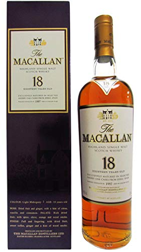 Macallan - Light Mahogany Sherry Oak - 1997 18 year old Whisky
