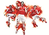 Arsenal FC – Mikel ARTETA MEZUT Ozil Lukas Podolski –