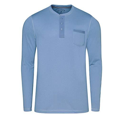 Jockey - Night Day 500714H - Schlafanzug - T-Shirt Langarm (S Denim)