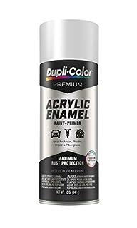 EPAE11100 Dupli-Color Flat White Premium Acrylic Enamel Spray Paint 12 oz (B07CZC4MNR) | Amazon price tracker / tracking, Amazon price history charts, Amazon price watches, Amazon price drop alerts