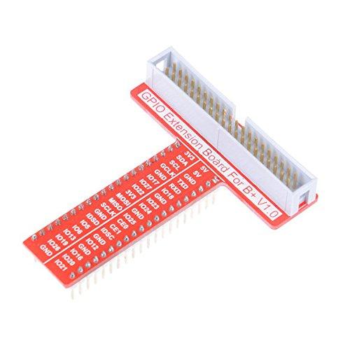 Bluelover 40 Pin T Typ Gpio Adapter Erweiterungskarte Für Himbeer Pi 3/2 Modell B / B + / A + / Zero