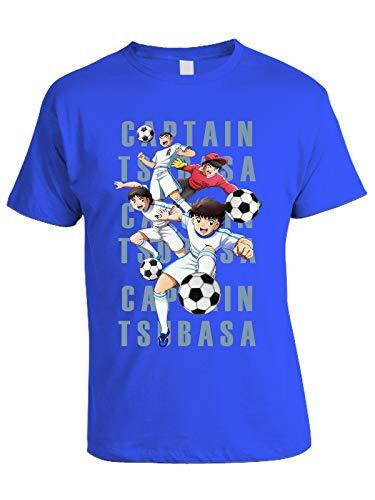 T-Shirt New Team - Genzo - Holly - Benji - Tom - Bruce - Cartoni Animati