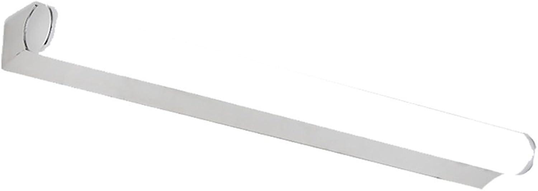 Wasserdichte Anti-Fog Einfache moderne LED-Spiegel Vorne Ligh Badezimmer Edelstahl Spiegel Schrank Lichter ( Farbe   Weies Licht-58CM7W )