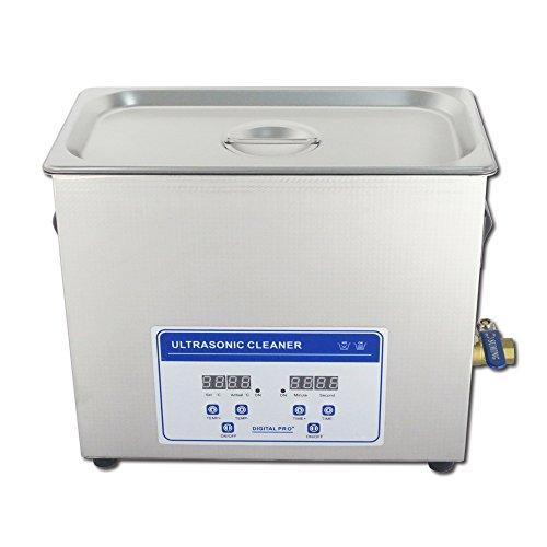 10L Professional Digital Ultraschallreiniger Maschine mit Timer Beheizte Edelstahl Reinigung Tank 110V/220V