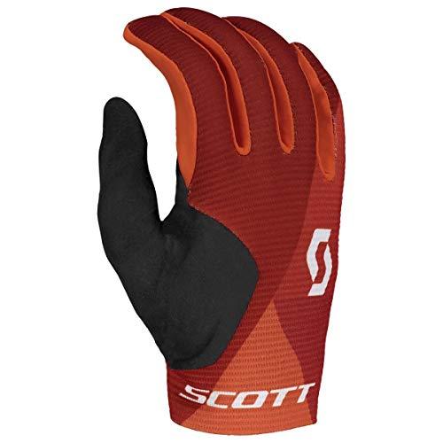 Scott Ridance Fahrrad Handschuhe lang orange/grau 2019: Größe: M (9)