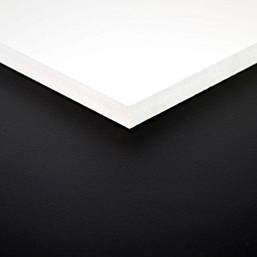 3mm FOREX® Platte 70x50 cm weiß PVC Hartschaum
