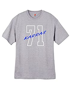 Wally's Custom Apparel Mens Karras 71 T Shirt Gray Sizes Small - 2XL (2XL)