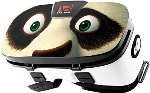 Virtual Reality Headset, Goggles Gear, Google - 3D VR Glasses by VR WEAR VR 3D Box for Any Phone (iPhone 6/7/8/Plus/X & S6/S7/S8/S9/Plus/Note and All Android Smartphone) with 4.5-6.5' Screen (Panda)
