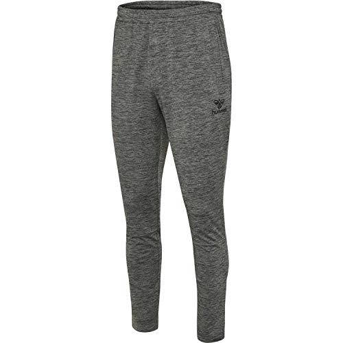 Hummel Herren Trainingshose Aston Tapered Pants 206490 Dark Grey Melange XXL