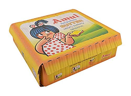 AMUL Butter 10 GM (Pack of 100)