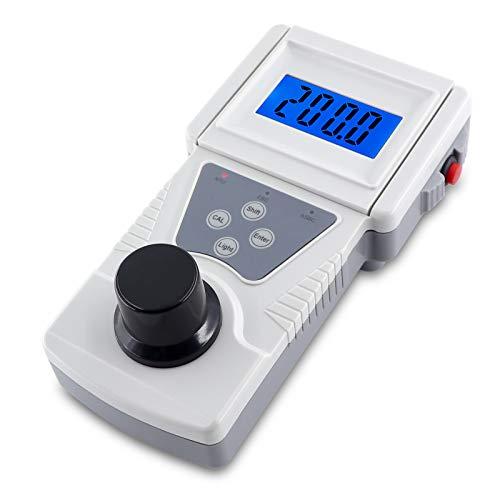 BriSunshine Torbidimetro portatile Misuratore di torbidità per la torbidità dei liquidi Campo di misura 0-200NTU