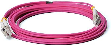 Conbic Lwl Glasfaser Kabel 2m Om4 Lc Auf Lc Stecker Elektronik